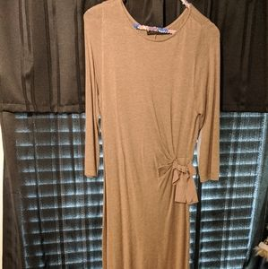 Limited tan sweater dress S